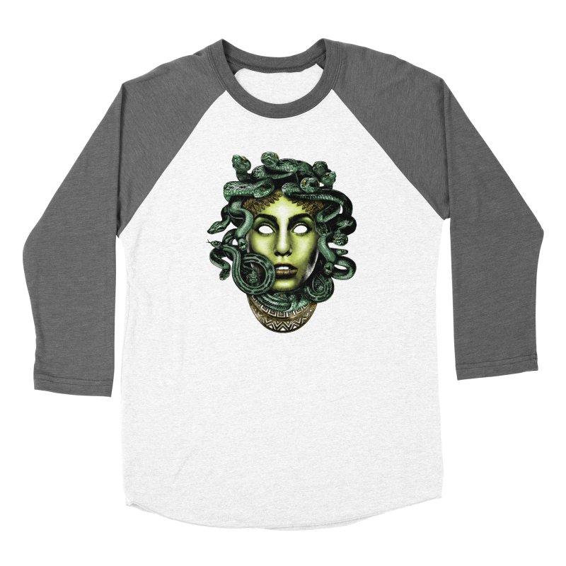 Medusa Women's Longsleeve T-Shirt by Anthony Petrie Print + Product Design
