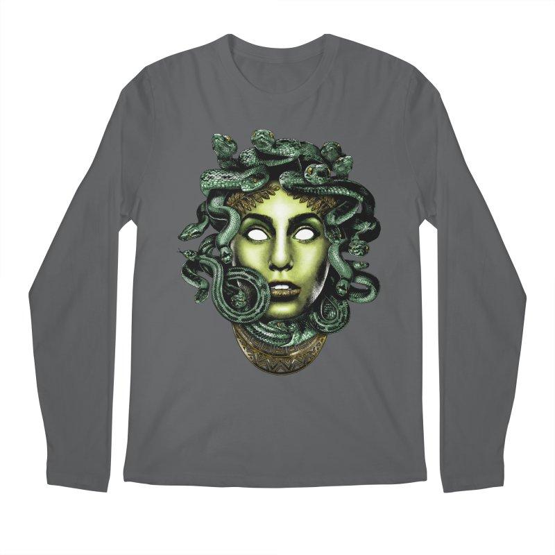 Medusa Men's Regular Longsleeve T-Shirt by Anthony Petrie Print + Product Design