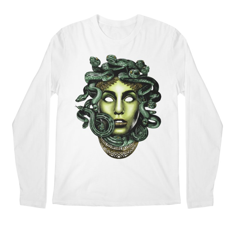 Medusa Men's Regular Longsleeve T-Shirt by Anthony Petrie Print + Product Design