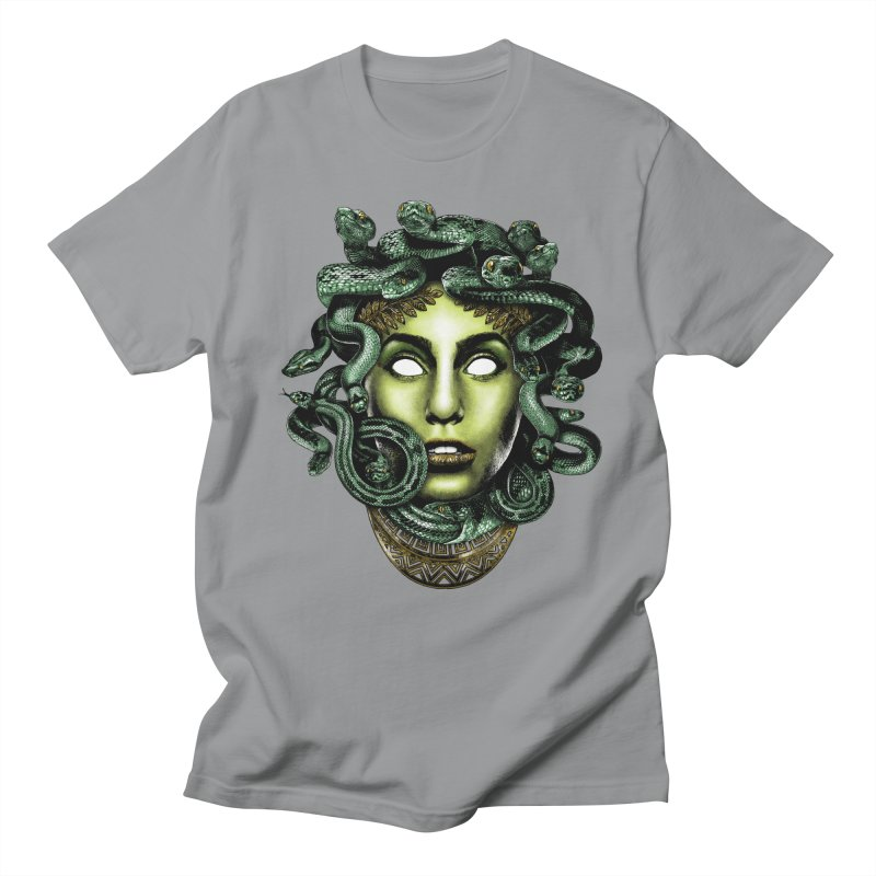 Medusa Women's Regular Unisex T-Shirt by Anthony Petrie Print + Product Design