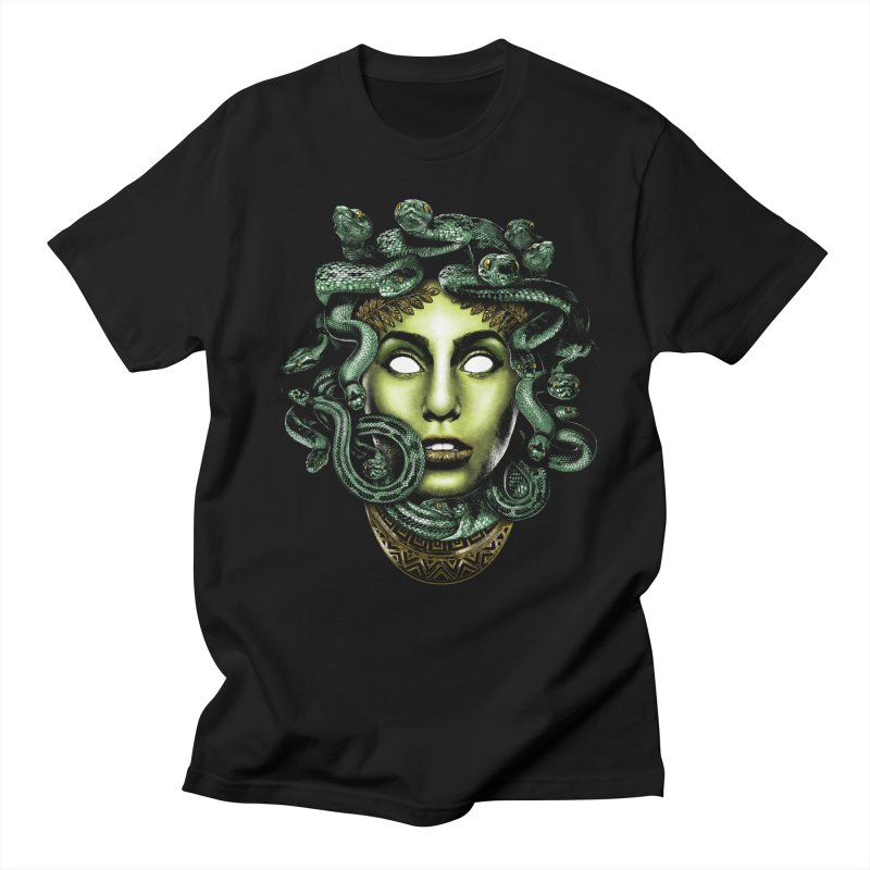 Medusa Men's Regular T-Shirt by Anthony Petrie Print + Product Design