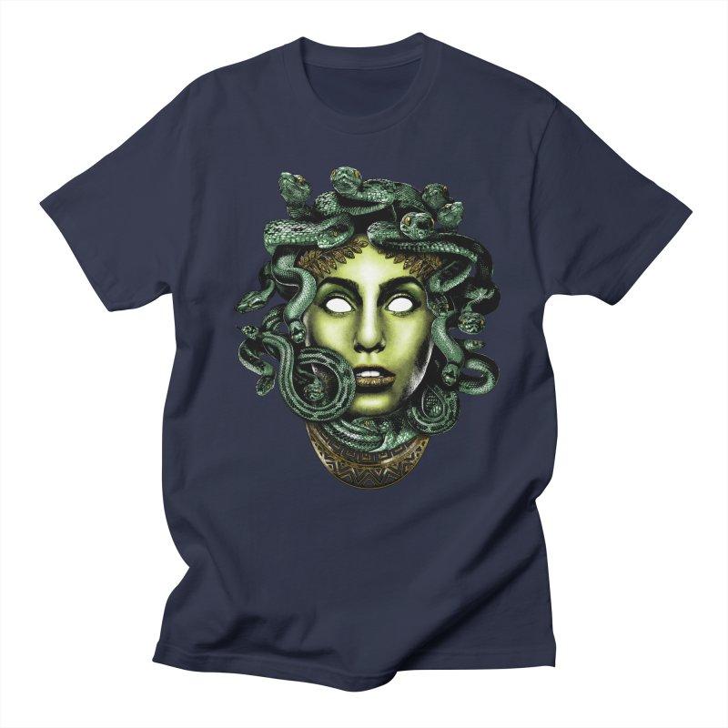 Medusa Men's Regular T-Shirt by Anthony Petrie Print + Product Design