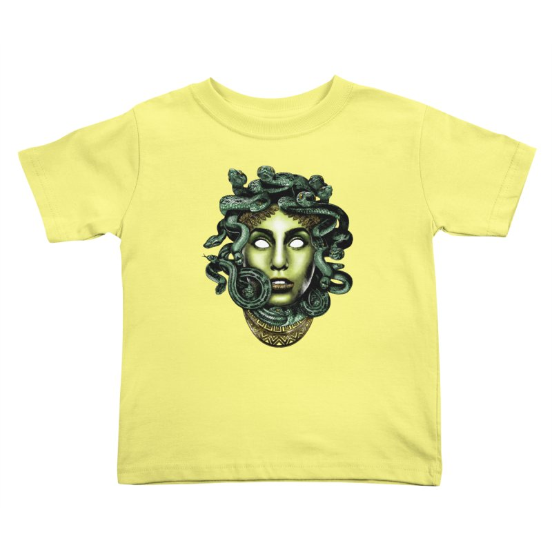 Medusa Kids Toddler T-Shirt by Anthony Petrie Print + Product Design