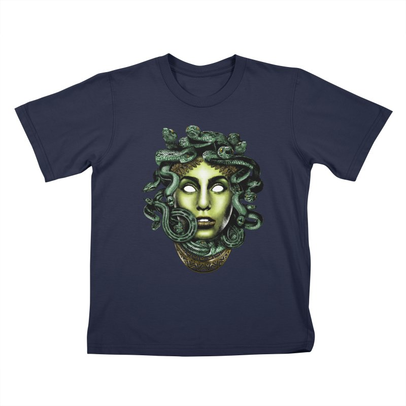 Medusa Kids T-Shirt by Anthony Petrie Print + Product Design