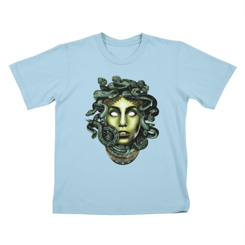 Medusa Kids T-Shirt by Anthony Petrie Print + Product Design
