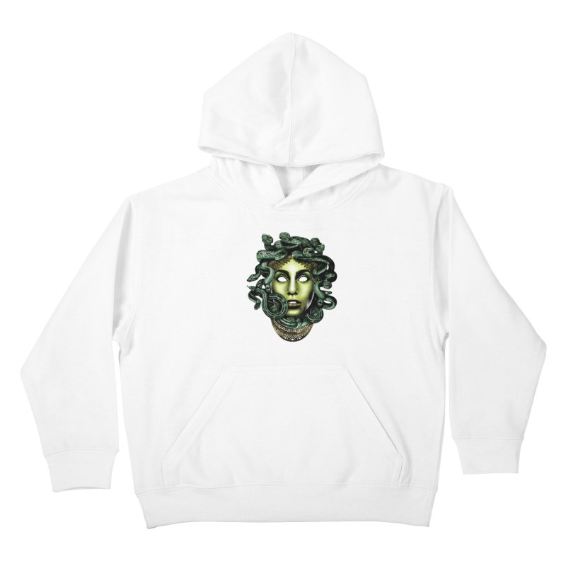 Medusa Kids Pullover Hoody by Anthony Petrie Print + Product Design