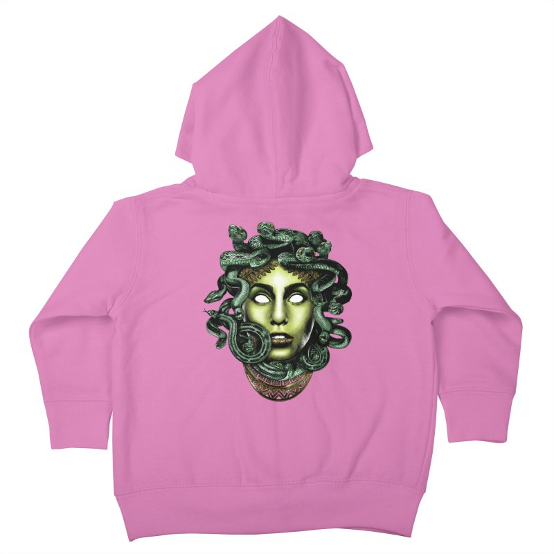 Medusa Kids Toddler Zip-Up Hoody by Anthony Petrie Print + Product Design