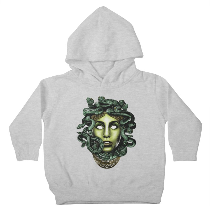 Medusa Kids Toddler Pullover Hoody by Anthony Petrie Print + Product Design