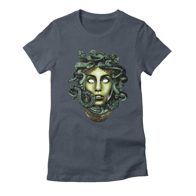Medusa Women's T-Shirt by Anthony Petrie Print + Product Design