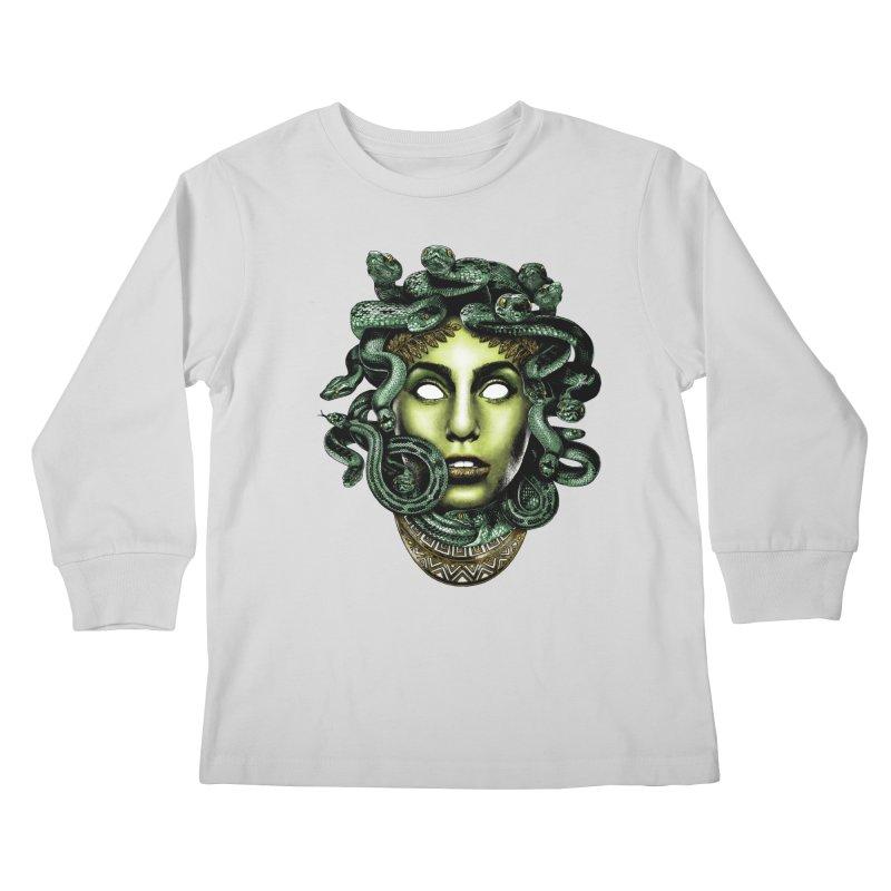 Medusa Kids Longsleeve T-Shirt by Anthony Petrie Print + Product Design
