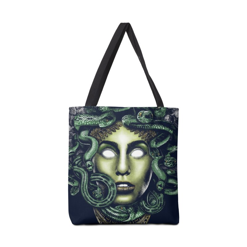 Medusa Accessories Bag by Anthony Petrie Print + Product Design