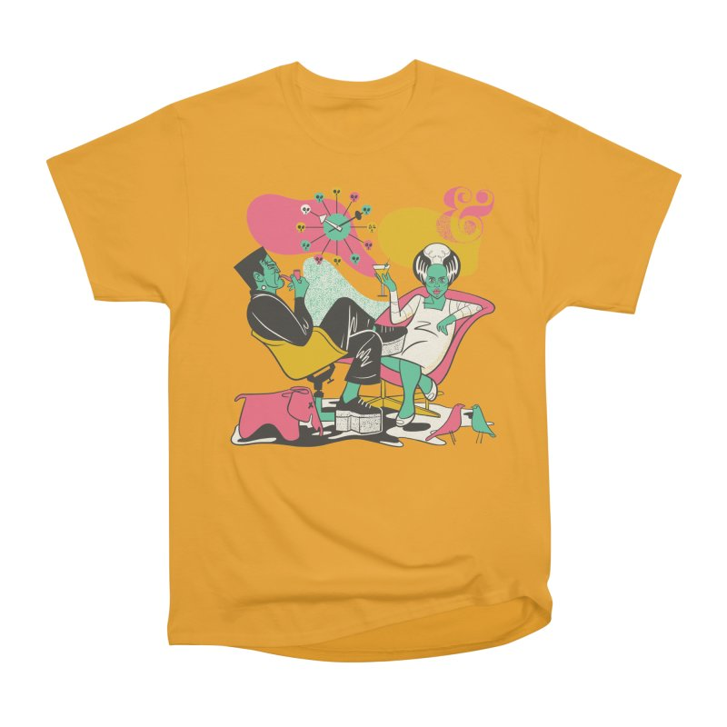 Modsters Men's Heavyweight T-Shirt by Anthony Petrie Print + Product Design