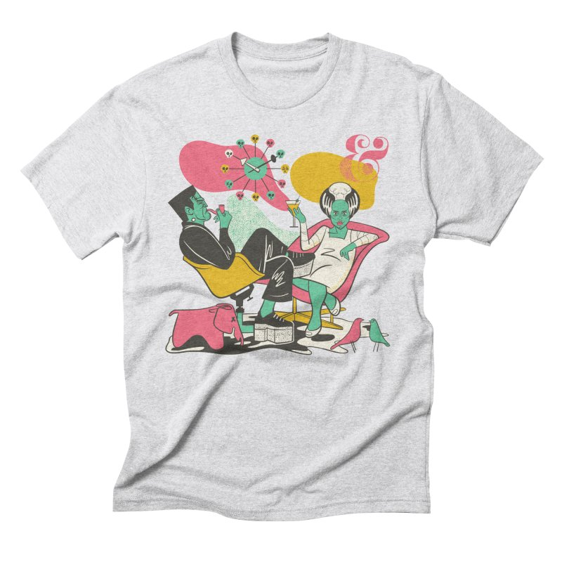 Modsters Men's Triblend T-Shirt by Anthony Petrie Print + Product Design