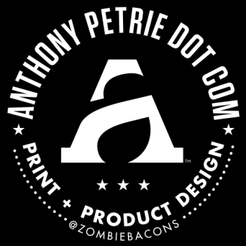 Anthony Petrie Print + Product Design Logo