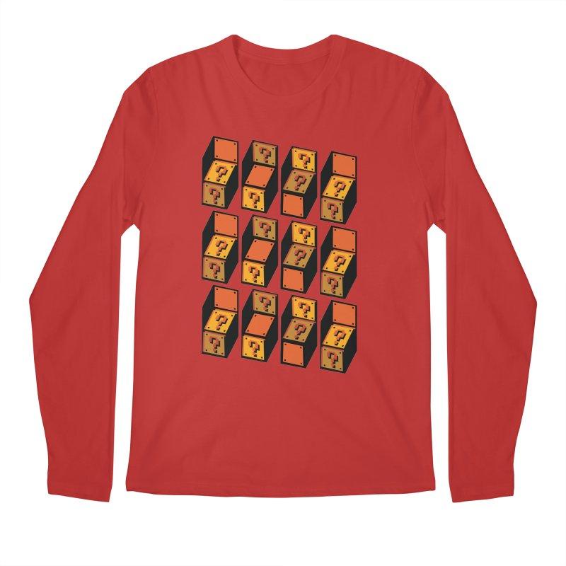 Optibox Men's Longsleeve T-Shirt by zombiemedia's Artist Shop