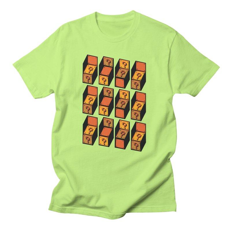 Optibox Men's T-Shirt by zombiemedia's Artist Shop