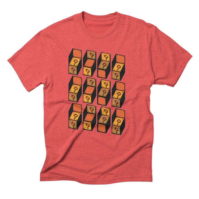 Optibox Men's Triblend T-Shirt by zombiemedia's Artist Shop
