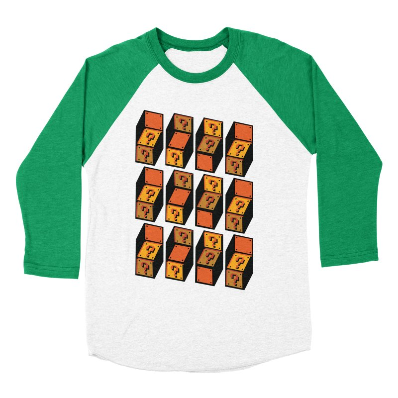 Optibox Women's Baseball Triblend T-Shirt by zombiemedia's Artist Shop