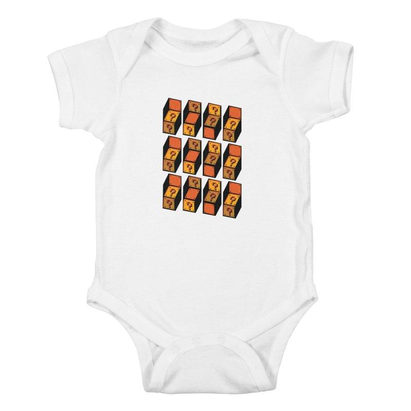 Optibox Kids Baby Bodysuit by zombiemedia's Artist Shop