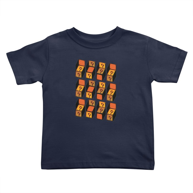 Optibox Kids Toddler T-Shirt by zombiemedia's Artist Shop