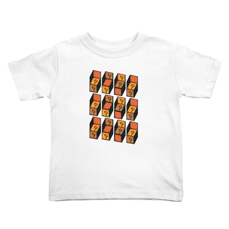 Optibox Kids Toddler T-Shirt by zombiemedia's Artist Shop