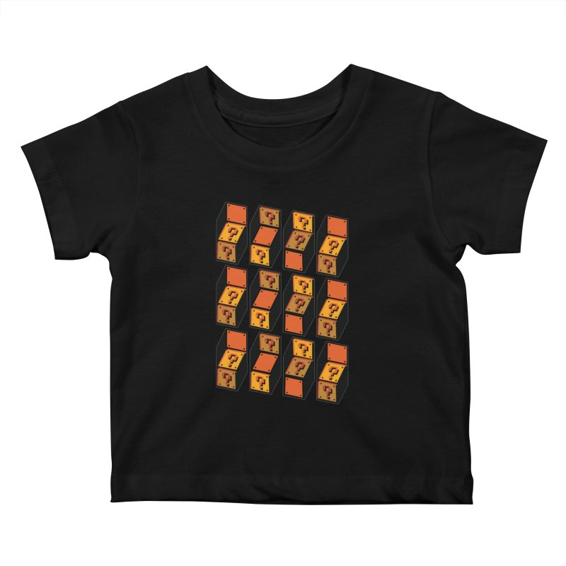 Optibox Kids Baby T-Shirt by zombiemedia's Artist Shop