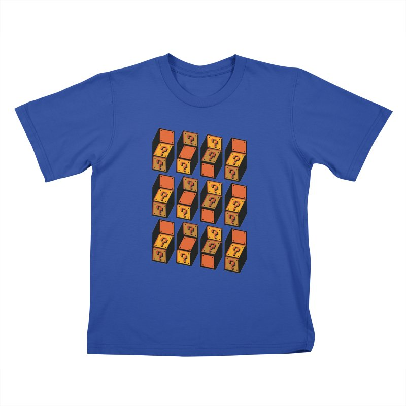 Optibox Kids T-shirt by zombiemedia's Artist Shop