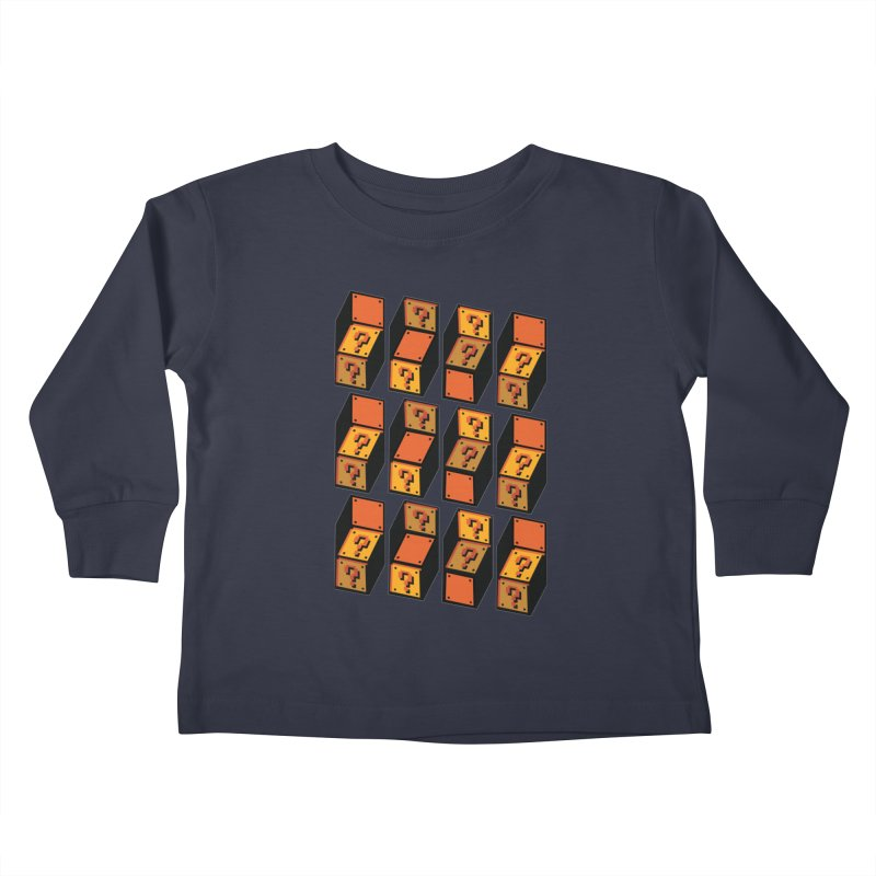 Optibox Kids Toddler Longsleeve T-Shirt by zombiemedia's Artist Shop