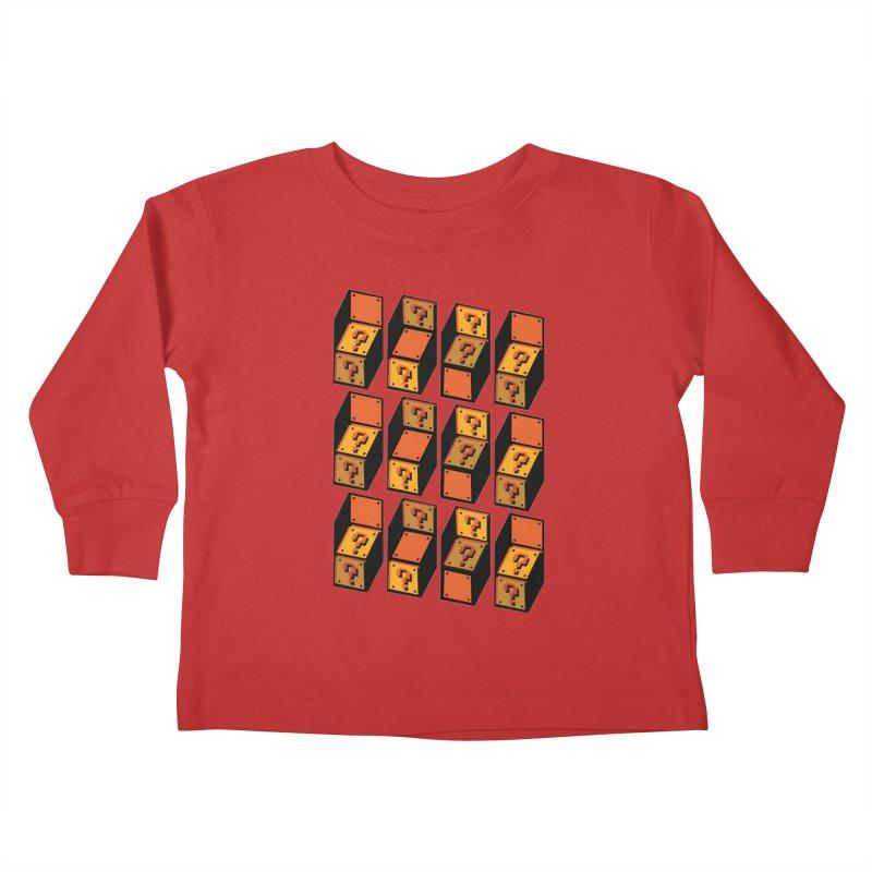 Optibox Kids Toddler Longsleeve T-Shirt by zombiemedia's Artist Shop