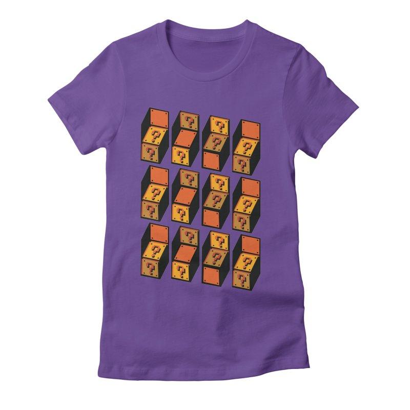 Optibox Women's Fitted T-Shirt by zombiemedia's Artist Shop