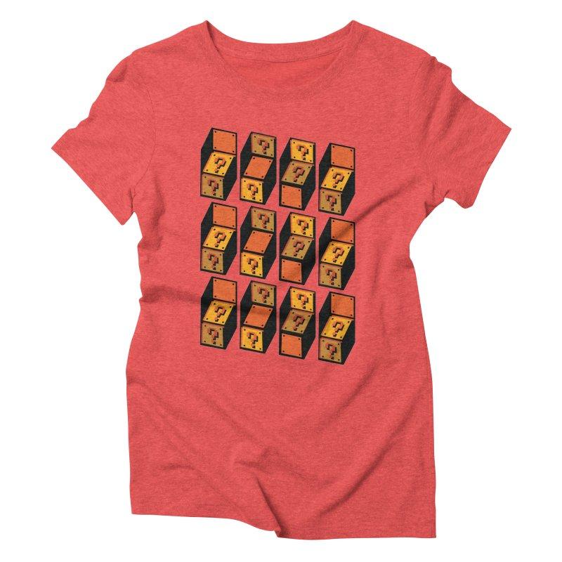 Optibox Women's Triblend T-shirt by zombiemedia's Artist Shop