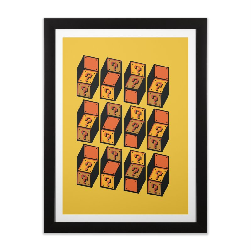 Optibox Home Framed Fine Art Print by zombiemedia's Artist Shop