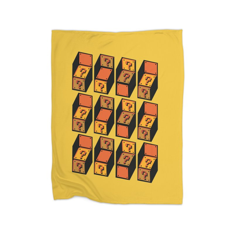 Optibox Home Blanket by zombiemedia's Artist Shop
