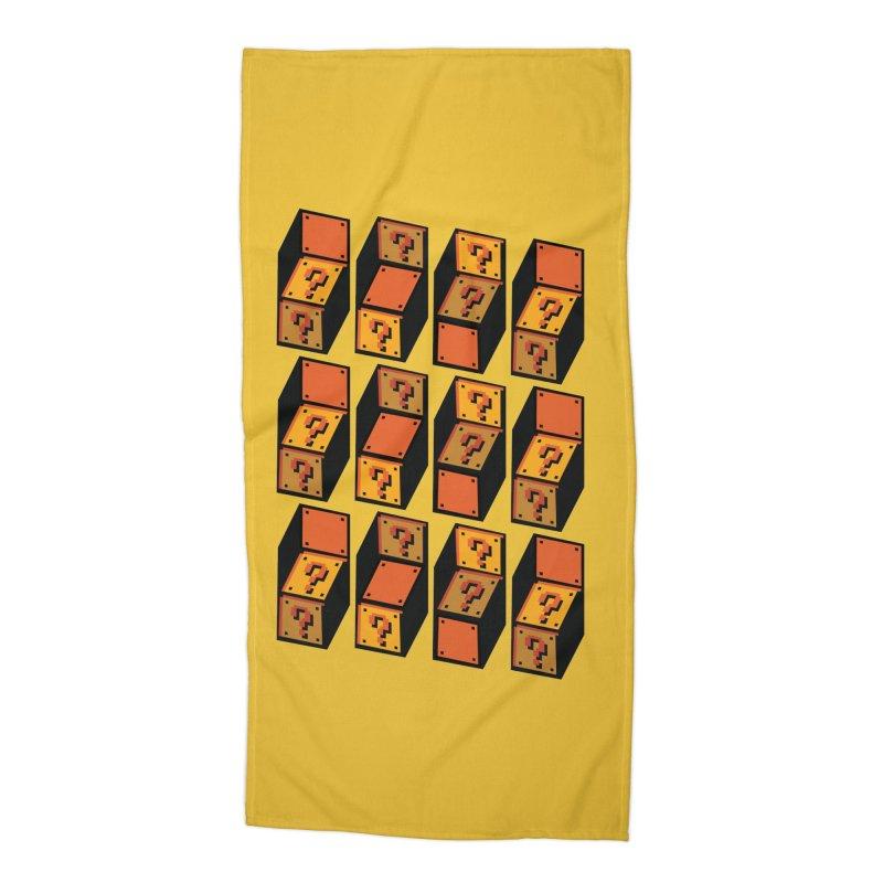 Optibox Accessories Beach Towel by zombiemedia's Artist Shop