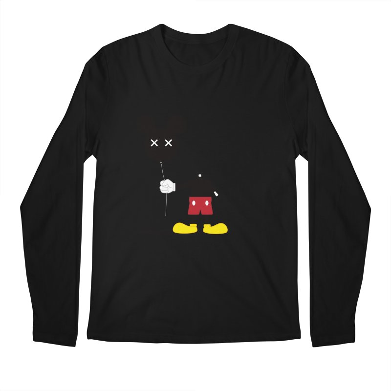 Don't Lose Your Head Men's Longsleeve T-Shirt by Numb Skull