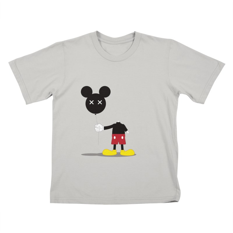 Don't Lose Your Head Kids T-shirt by Numb Skull