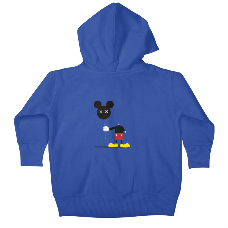 Don't Lose Your Head Kids Baby Zip-Up Hoody by Numb Skull
