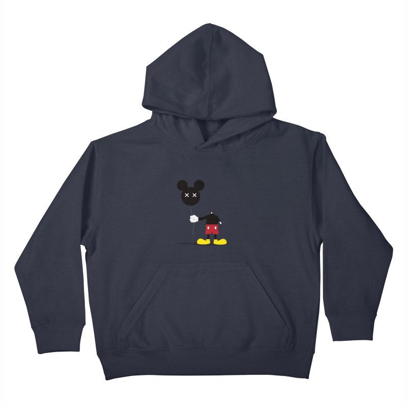 Don't Lose Your Head Kids Pullover Hoody by Numb Skull