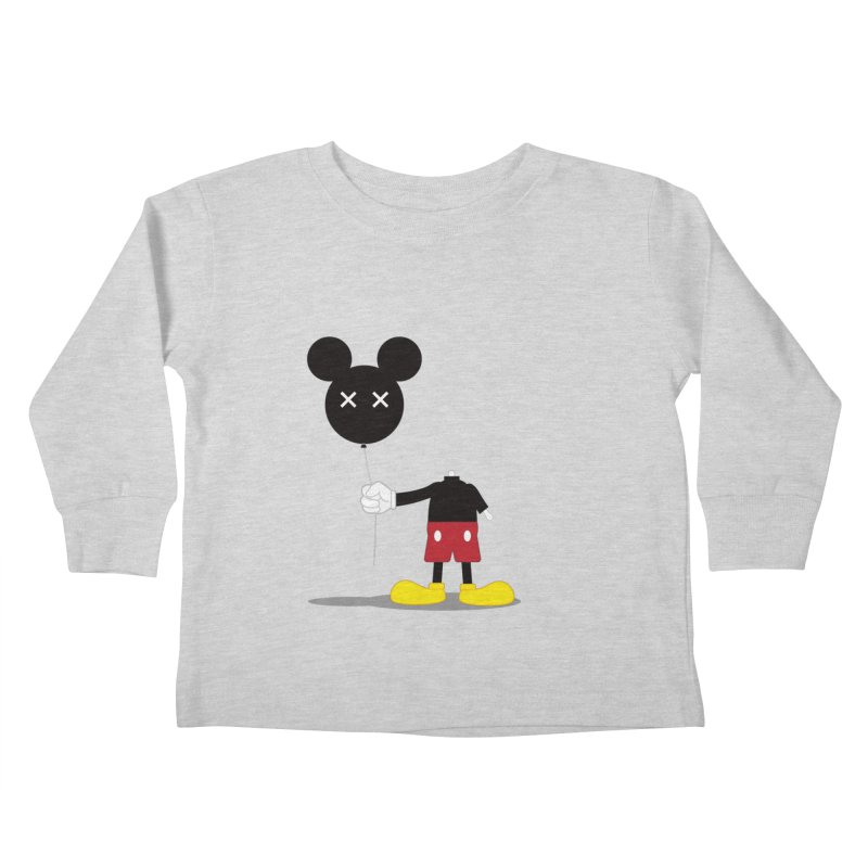 Don't Lose Your Head Kids Toddler Longsleeve T-Shirt by Numb Skull