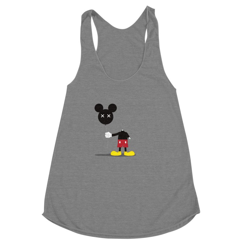 Don't Lose Your Head Women's Racerback Triblend Tank by Numb Skull