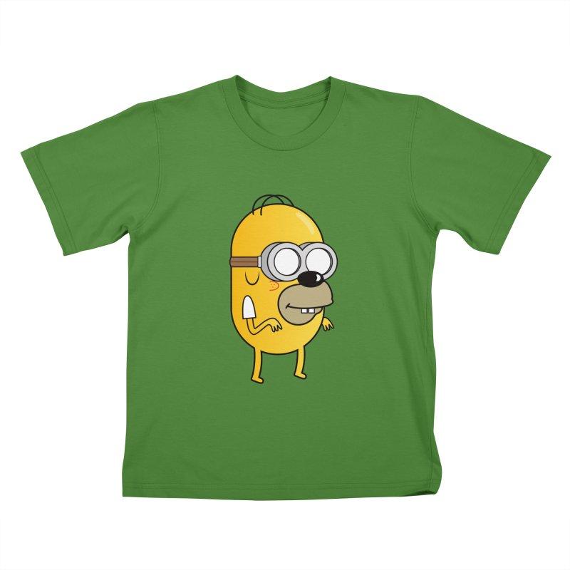 Hybrid Kids T-Shirt by Numb Skull