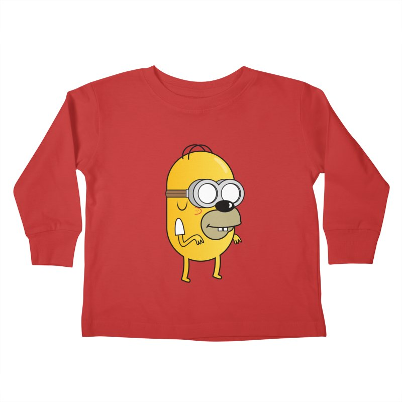 Hybrid Kids Toddler Longsleeve T-Shirt by Numb Skull