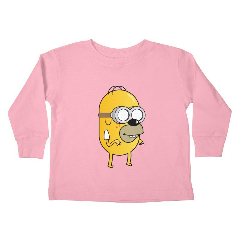 Hybrid Kids Toddler Longsleeve T-Shirt by Numb Skull