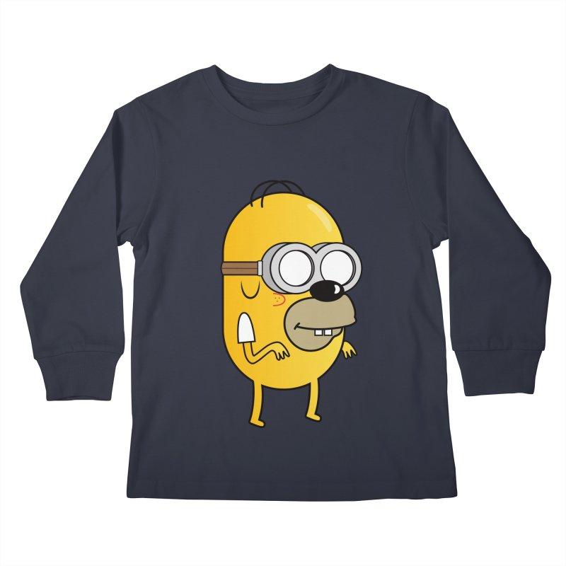 Hybrid Kids Longsleeve T-Shirt by Numb Skull