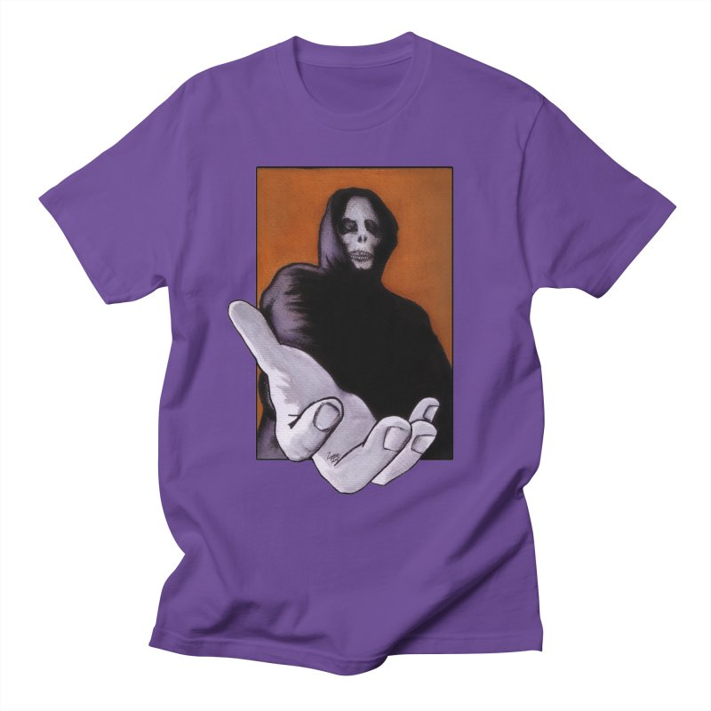 Death Goes In Fear Of What It Cannot Be Men's T-Shirt by Zombie Rust's Artist Shop