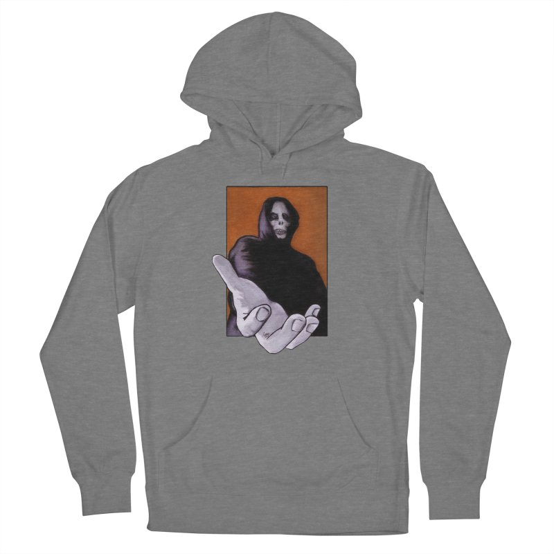 Death Goes In Fear Of What It Cannot Be Women's Pullover Hoody by Zombie Rust's Artist Shop