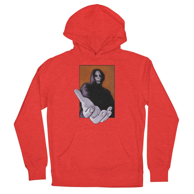 Death Goes In Fear Of What It Cannot Be Men's Pullover Hoody by Zombie Rust's Artist Shop