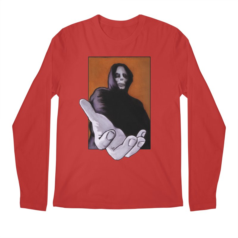 Death Goes In Fear Of What It Cannot Be Men's Longsleeve T-Shirt by Zombie Rust's Artist Shop