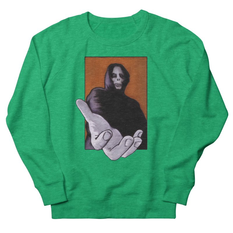 Death Goes In Fear Of What It Cannot Be Men's Sweatshirt by Zombie Rust's Artist Shop