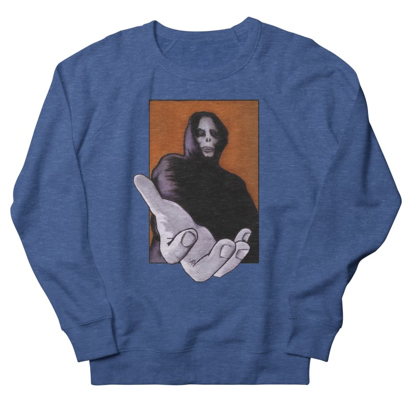 Death Goes In Fear Of What It Cannot Be Men's Sweatshirt by Zombie Rust's Artist Shop